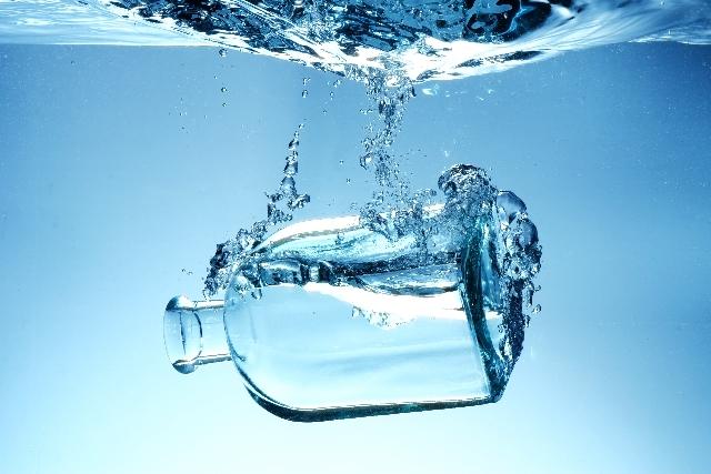 ボトルアクアリウム 瓶 f